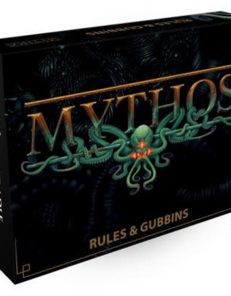 Warcradle Mythos Rules & Gubbins Box