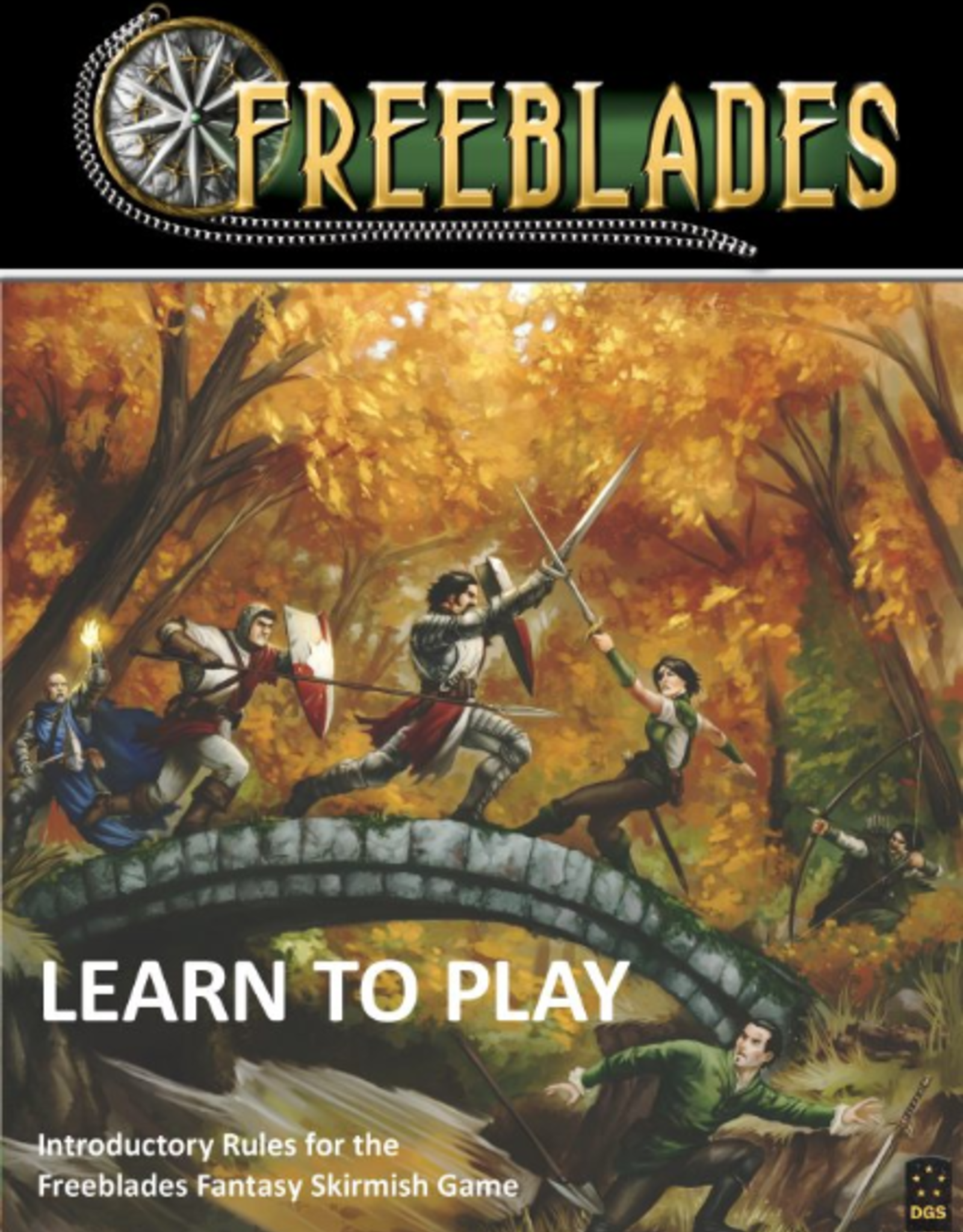 Freeblades Learn to Play Rulebook