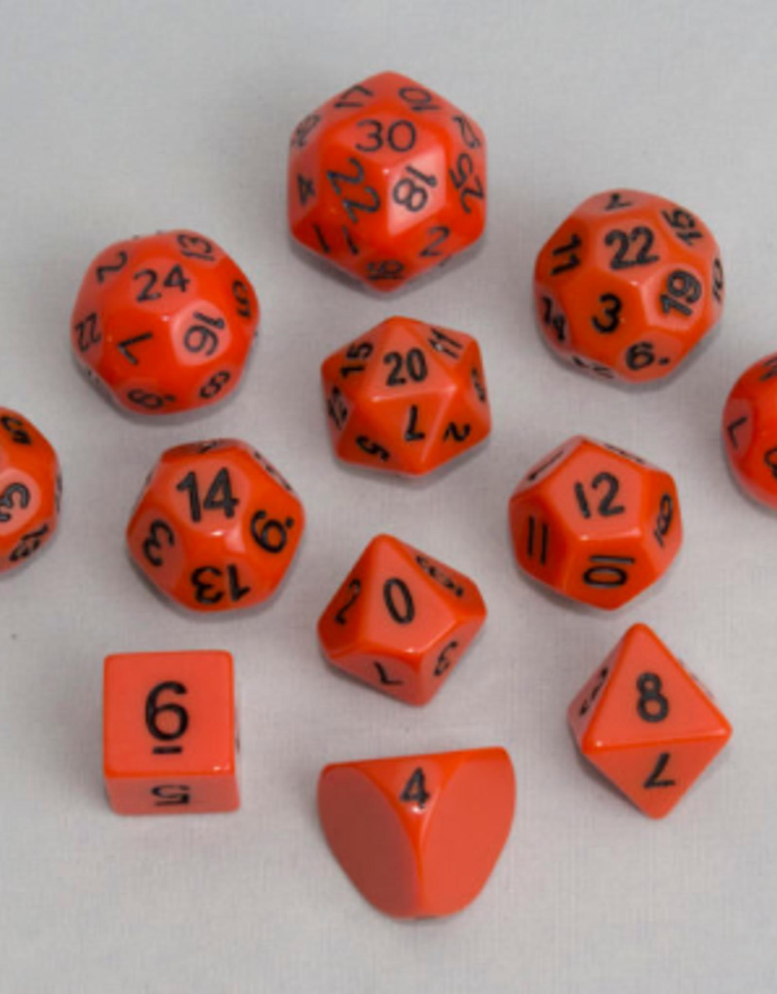 Dice, Orange (12pcs)
