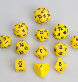 Dice, Yellow (12pcs)