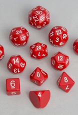 Dice, Red (12pcs)