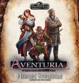 The Dark Eye: Aventuria Adventure Card Game - Heroes' Struggle Expansion