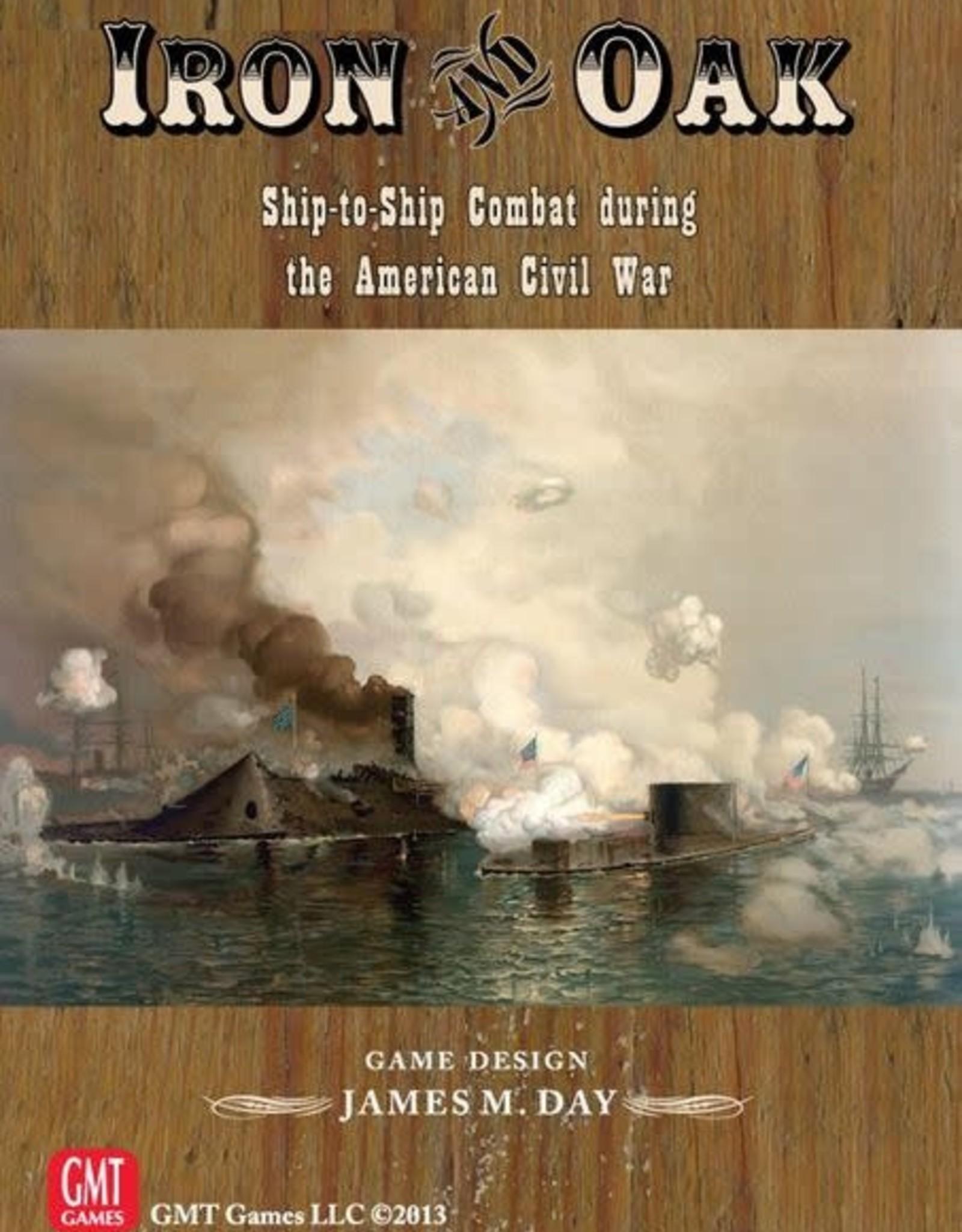 GMT Iron and Oak: Civil War Ship Combat