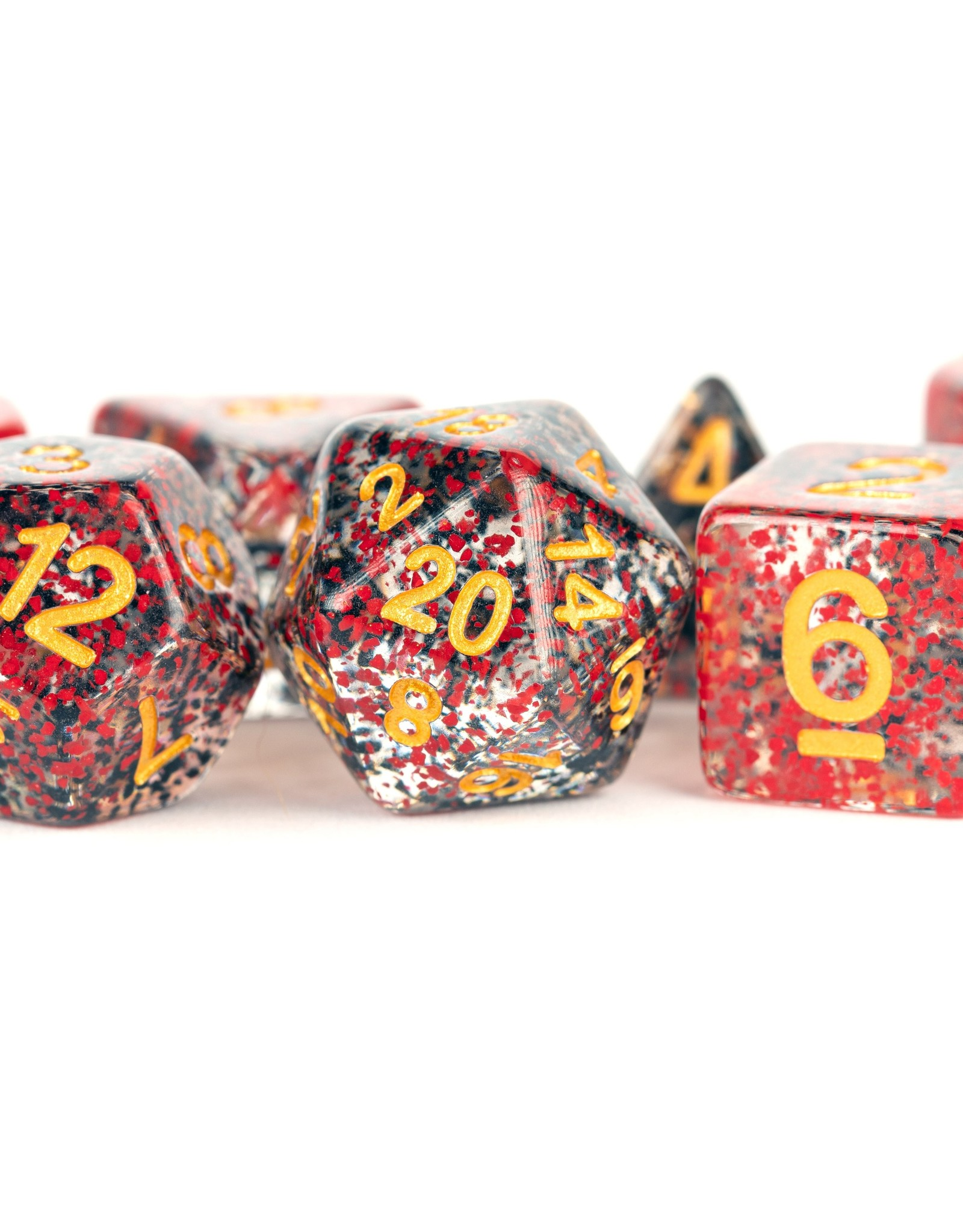 MDG Particle Dice: Red/Black