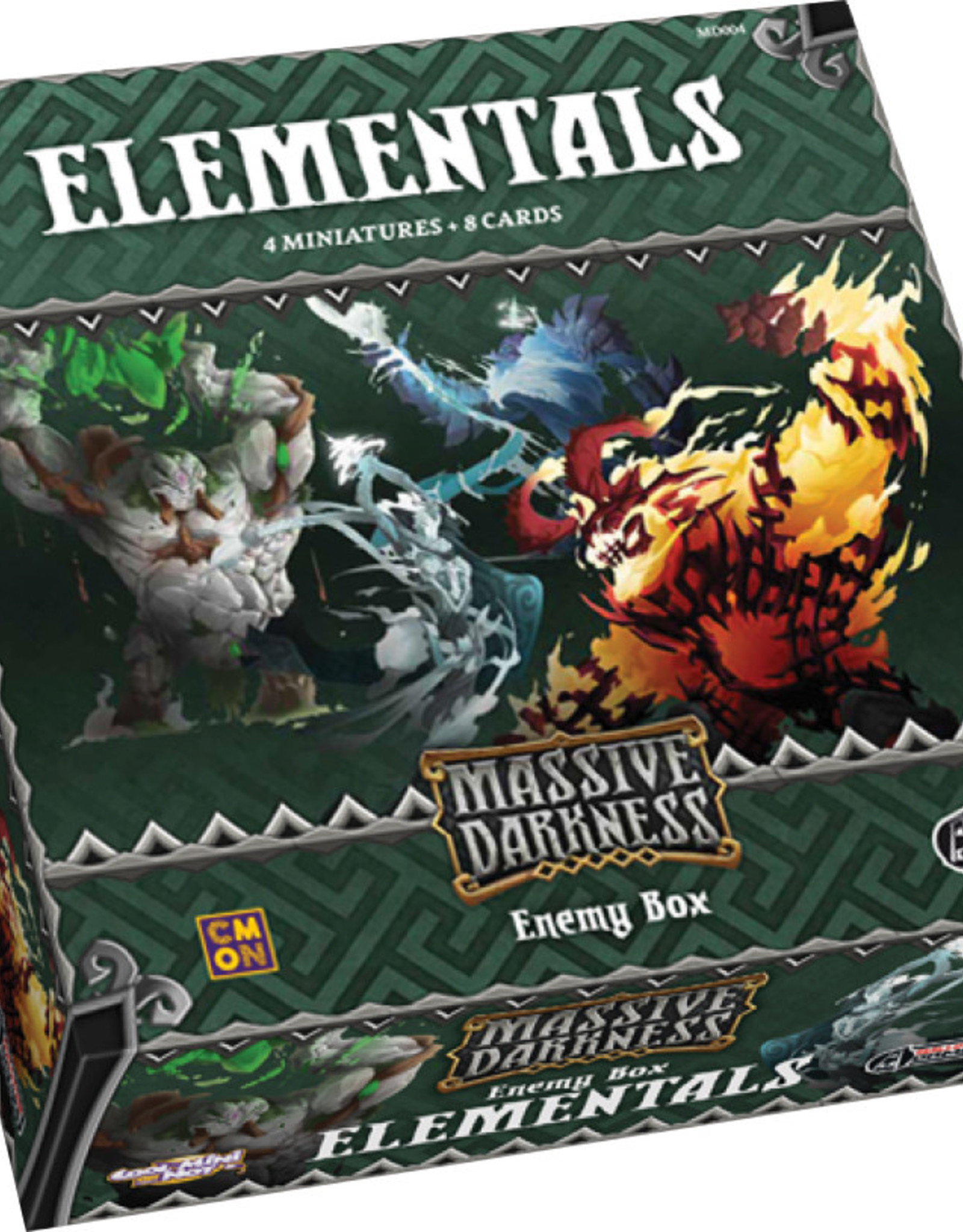 Massive Darkness: Elementals Enemy Box