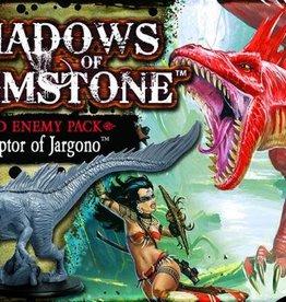 Shadows of Brimstone: Swamp Raptor of Jargono XL Sized Enemy Pack