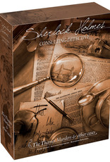 Asmodee Sherlock Holmes: Consulting Detective - The Thames Murders and Other Cases (stand alone)