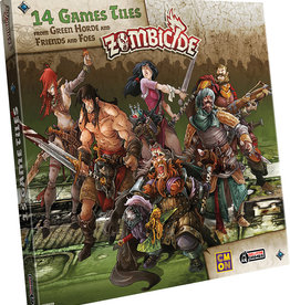 Zombicide: Green Horde - Extra Tiles Pack