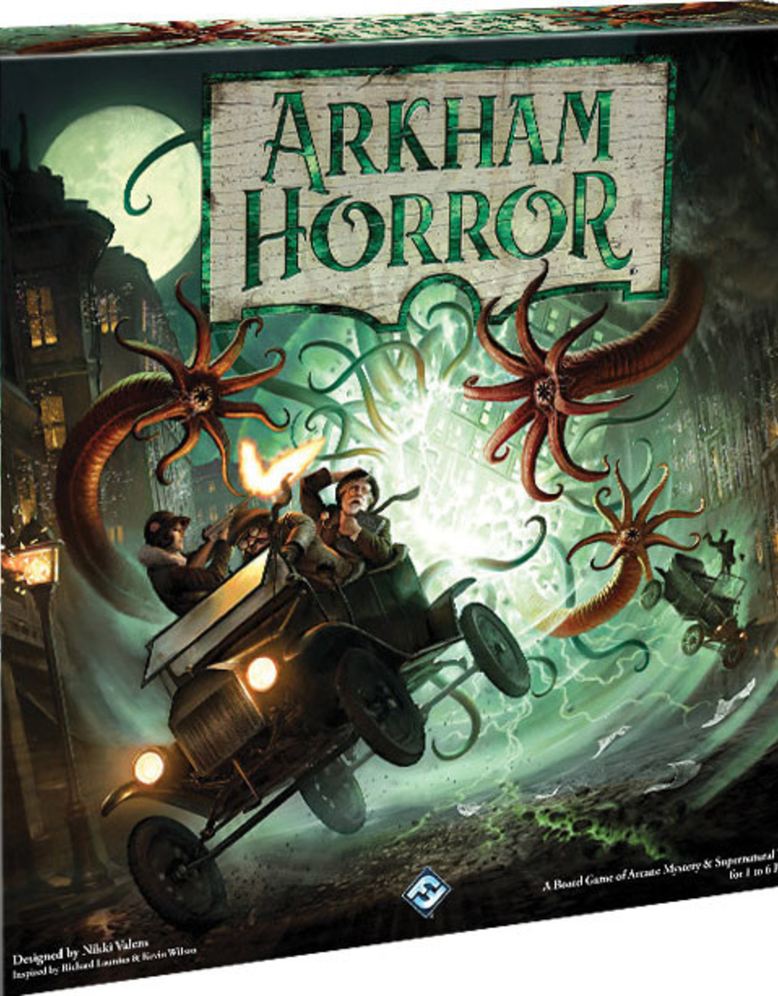 Asmodee: Top 40 Arkham Horror Board Game 3rd Edition