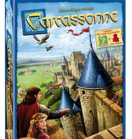 Asmodee: Top 40 Carcassonne - Basic Game - New Edition