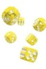 Okie Dokie D6 12mm Translucent Yellow