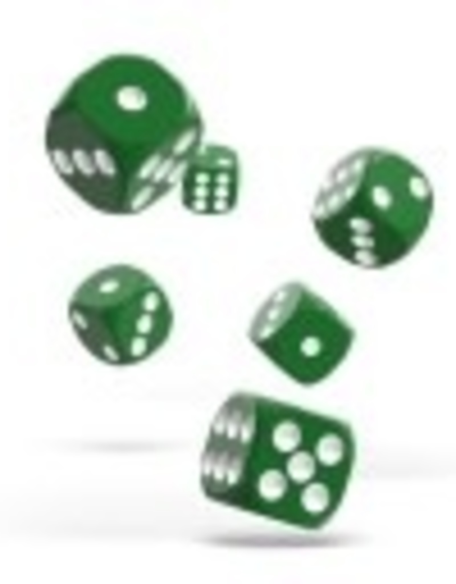 Okie Dokie D6 12mm Solid Green