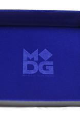 MDG Blue Velvet Folding Tray