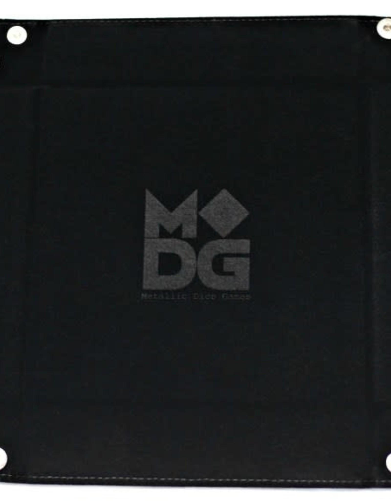 MDG Black Velvet Folding Tray
