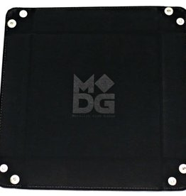 MDG Black Velvet Folding Tray