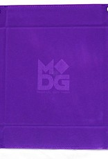 MDG Purple Velvet Folding Tray