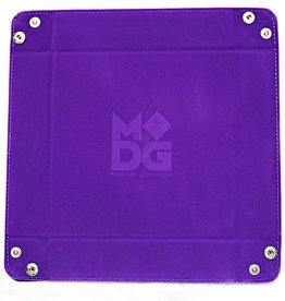MDG Purple Velvet Folding Tray