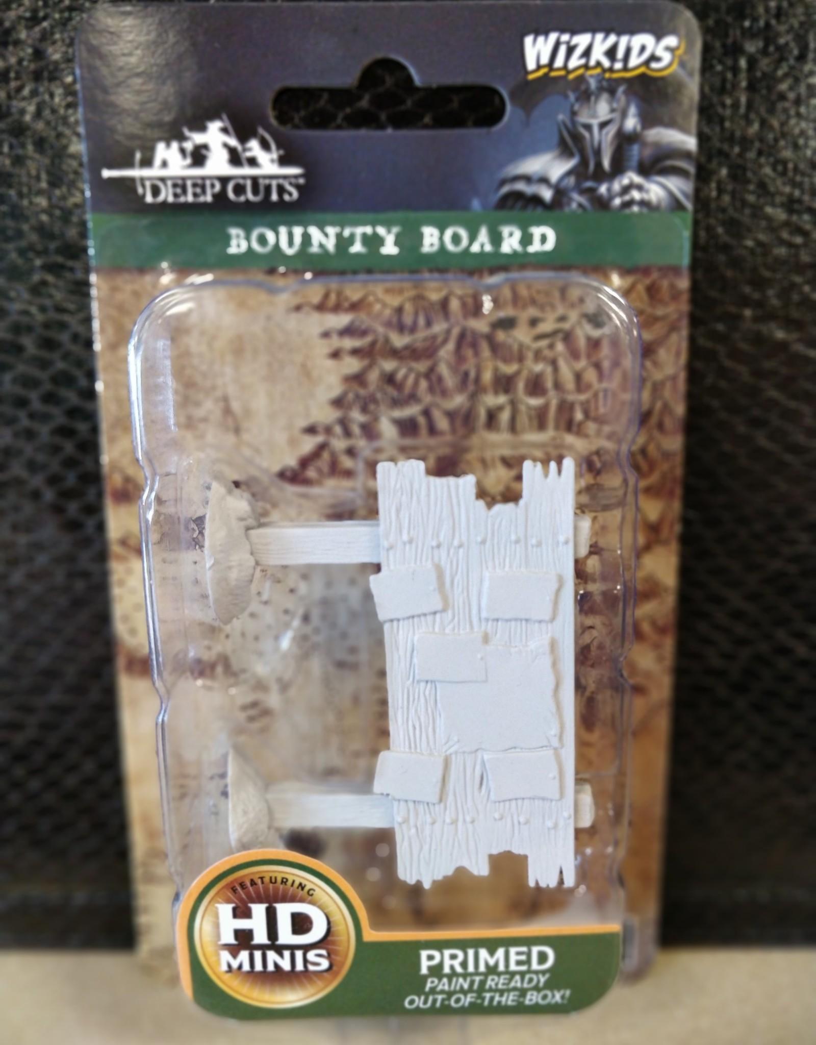 Wizkids WizKids Deep Cuts Unpainted Miniatures: W10 Bounty Board