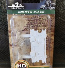 Wizkids WizKids Deep Cuts Unpainted Miniatures: W10 Bounty Board