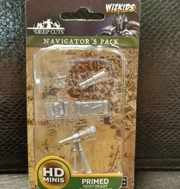 WizKids Deep Cuts Unpainted Miniatures: W5 Navigators Pack