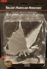 Dungeons & Dragons Nolzur's Marvelous Unpainted Miniatures: W9 Young Brass Dragon