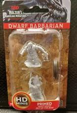 Dungeons & Dragons Nolzur's Marvelous Unpainted Miniatures: W6 Dwarf Male Barbarian