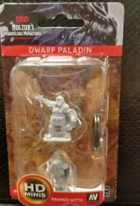 Dungeons & Dragons Nolzur's Marvelous Unpainted Miniatures: W3 Dwarf Female Paladin