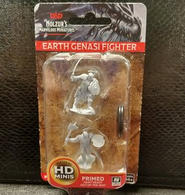 Dungeons & Dragons Nolzur's Marvelous Unpainted Miniatures: W4 Earth Genasi Male Fighter