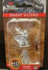 Dungeons & Dragons Nolzur's Marvelous Unpainted Miniatures: W4 Dwarf Female Wizard