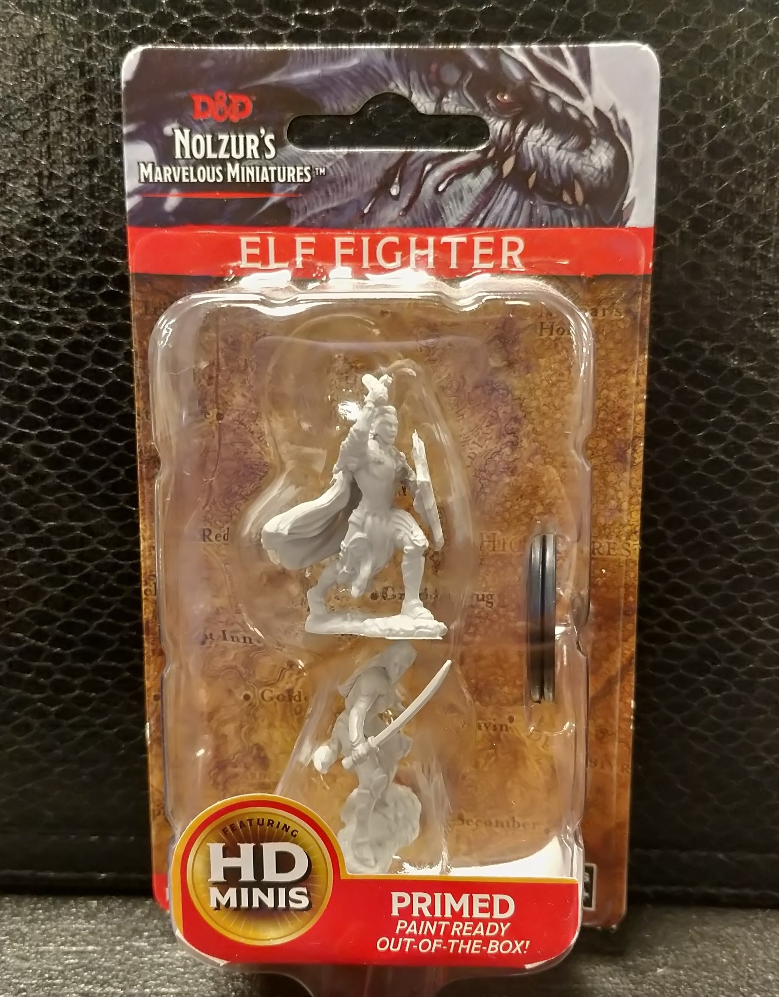 Dungeons & Dragons Nolzur's Marvelous Unpainted Miniatures: W6 Female Elf Fighter