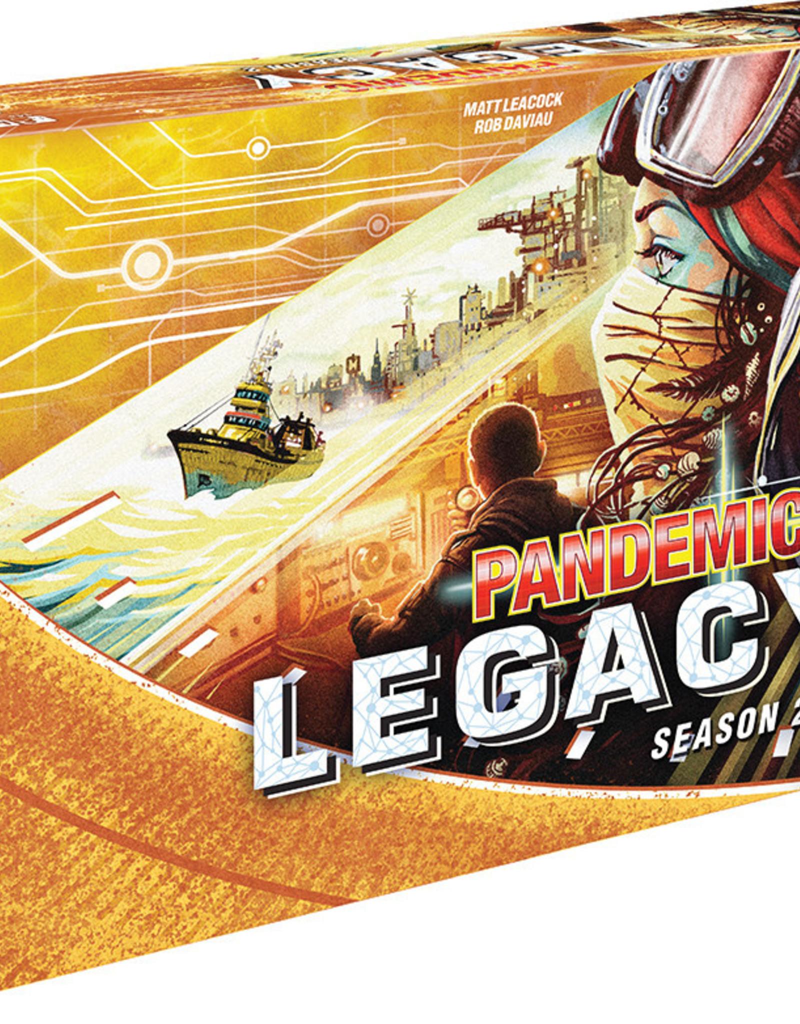 Asmodee Pandemic: Legacy Season 2 - Yellow (stand alone)