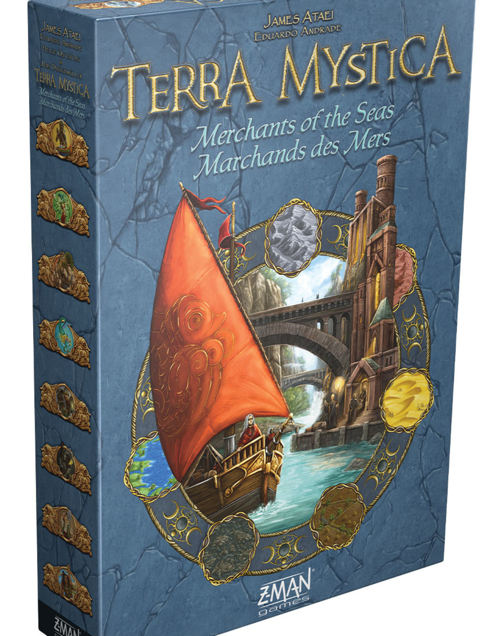 Asmodee Terra Mystica: Merchants of the Sea Expansion