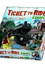 Asmodee: Top 40 Ticket To Ride: Europe