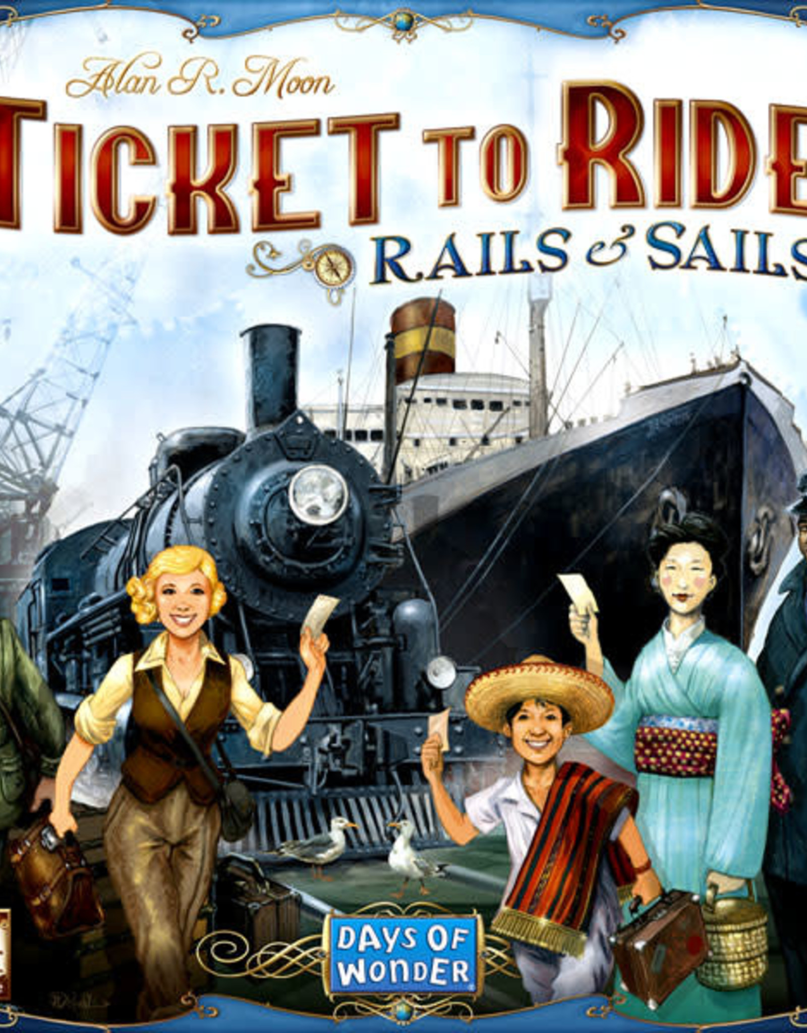 Asmodee: Top 40 Ticket to Ride: Rails and Sails