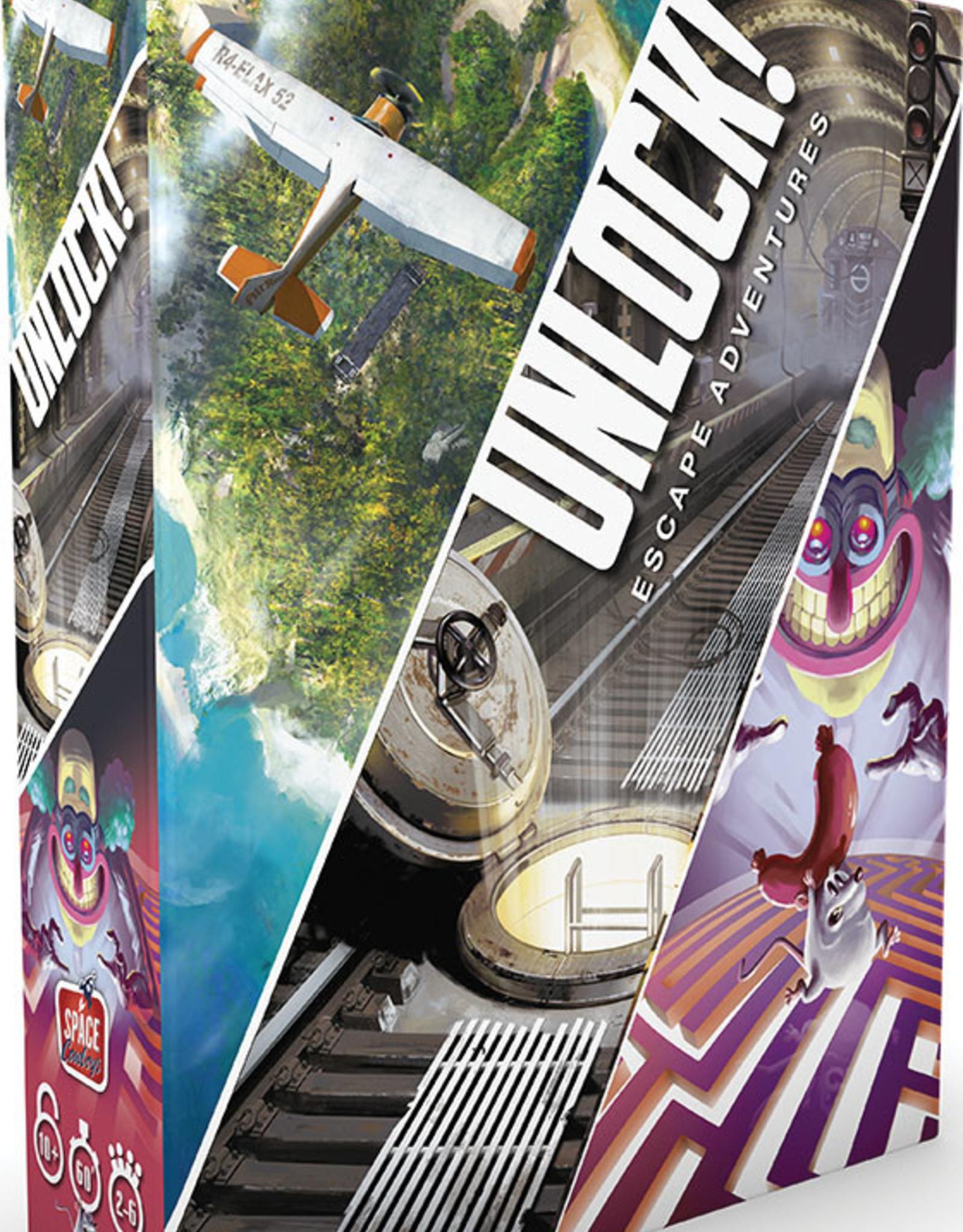 Asmodee: Top 40 Unlock! Game Adventures