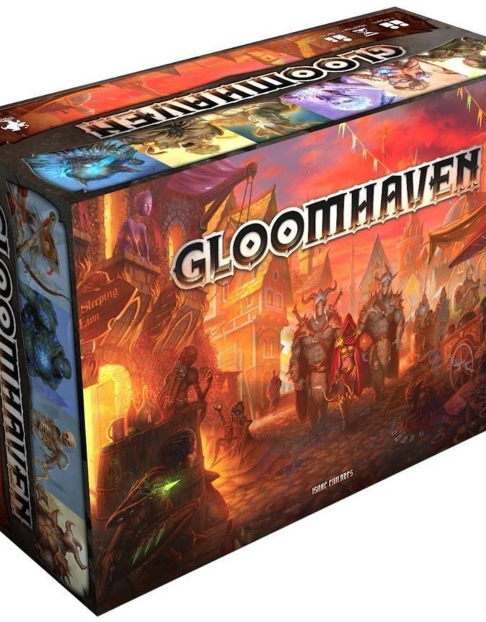 Cephalofair Games Gloomhaven: Fall 2017 Printing