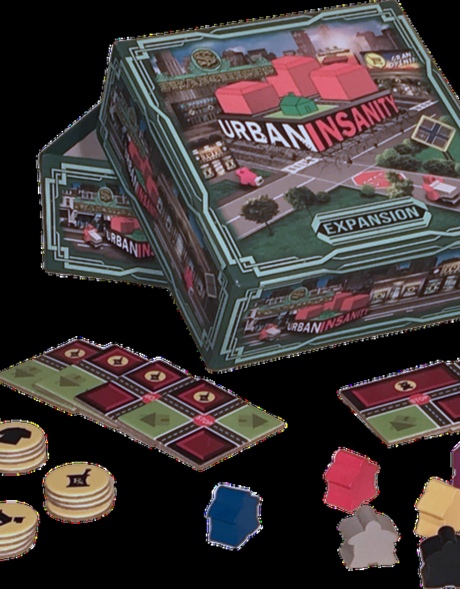 X Tile Games Urban Insanity Franchises
