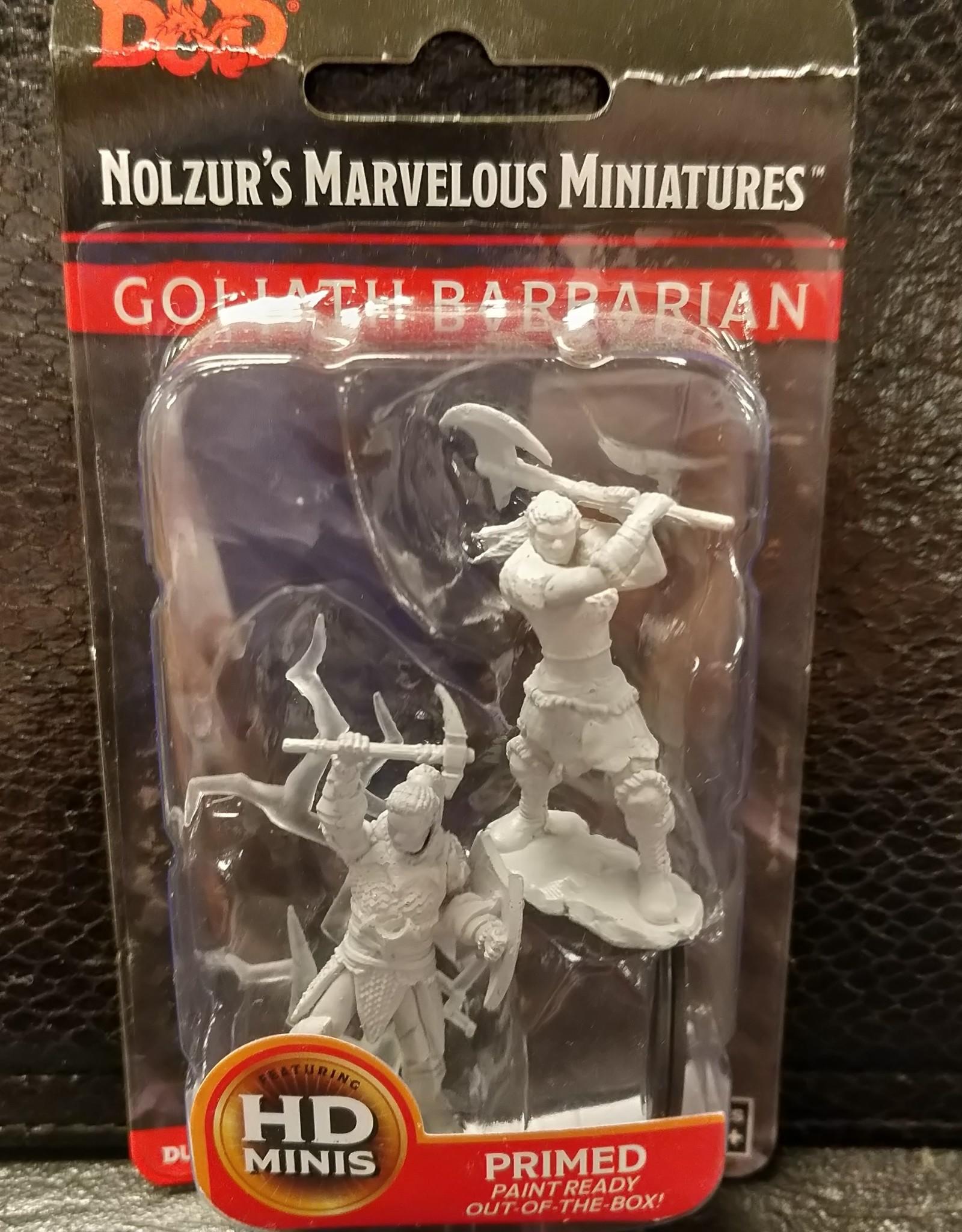 Wizkids Dungeons & Dragons Nolzur's Marvelous Unpainted Miniatures: W10 Male Goliath Barbarian
