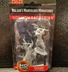 Wizkids Dungeons & Dragons Nolzur's Marvelous Unpainted Miniatures: W10 Male Goliath Barbarian