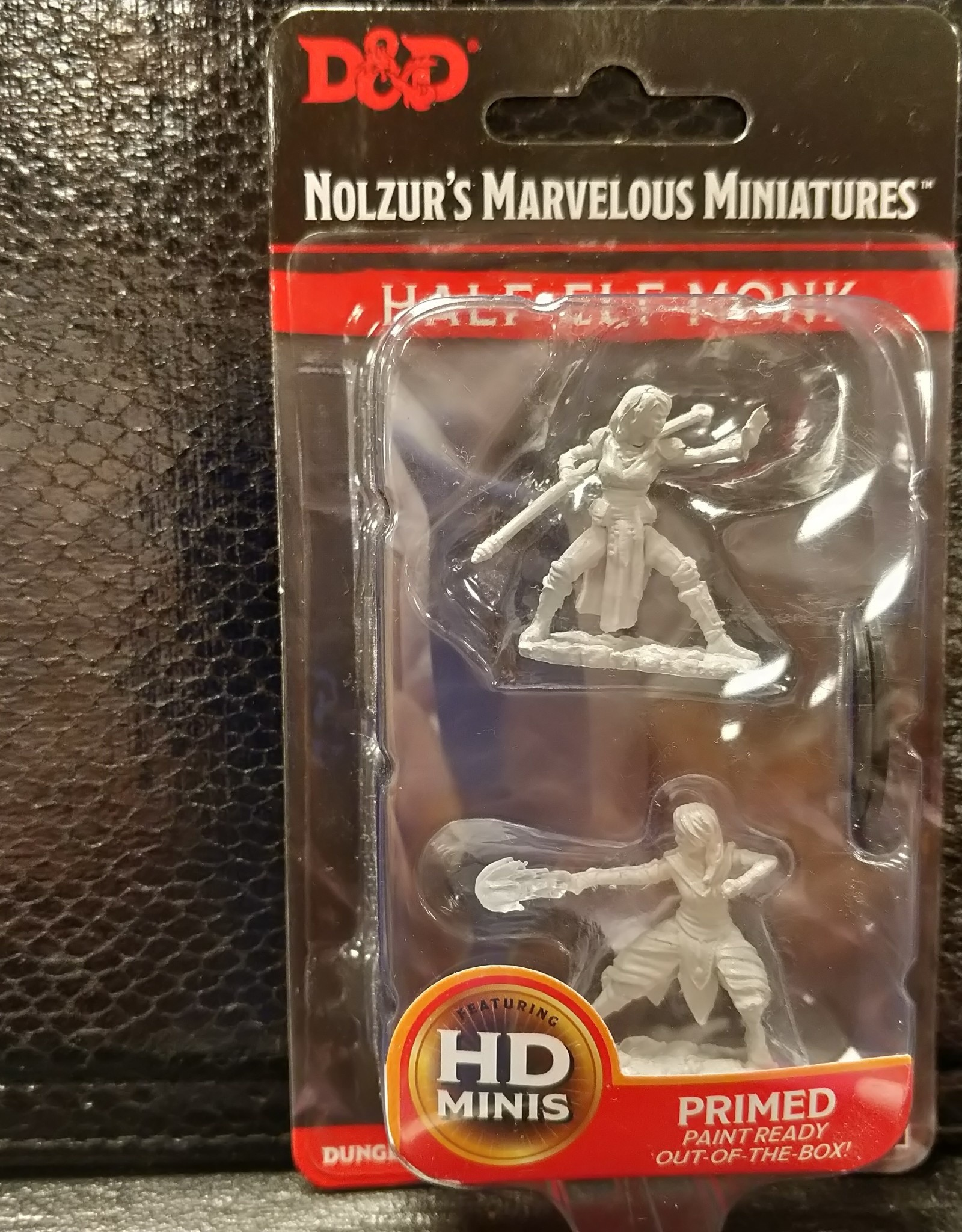 Wizkids Dungeons & Dragons Nolzur's Marvelous Unpainted Miniatures: W10 Female Half-Elf Monk