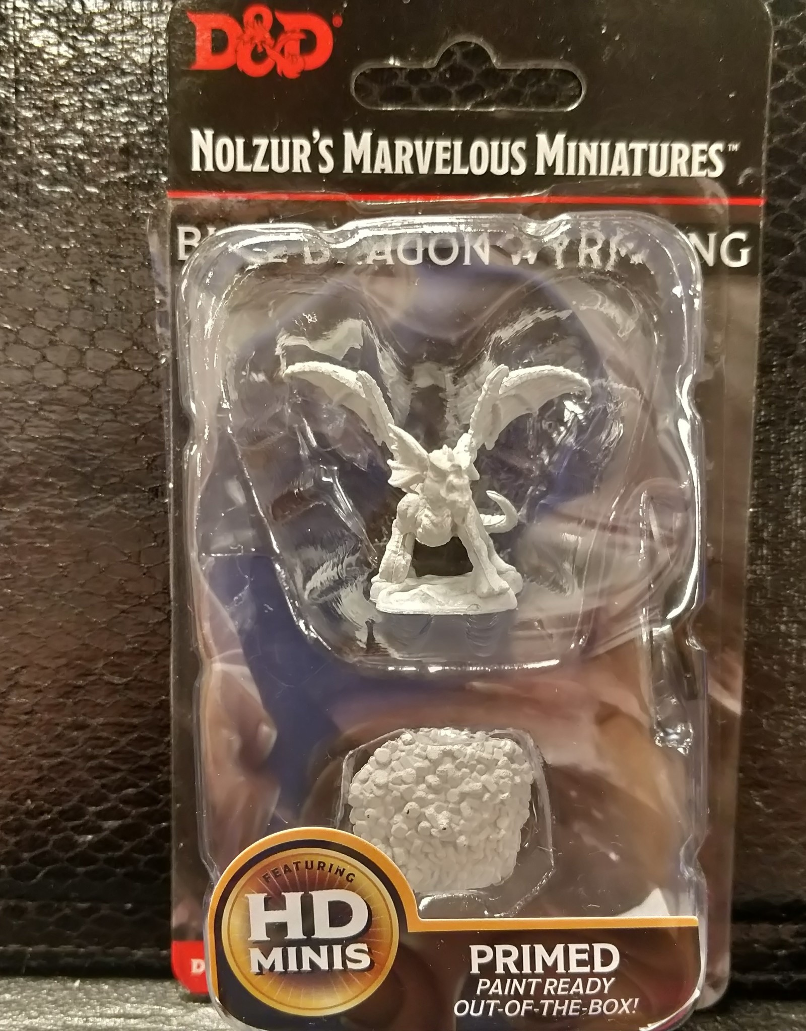 Wizkids Dungeons & Dragons Nolzur's Marvelous Unpainted Miniatures: W10 Blue Dragon Wyrmling