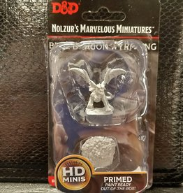 Wizkids Dungeons & Dragons Nolzur's Marvelous Unpainted Miniatures: W10 Blue Dragon Wyrmling