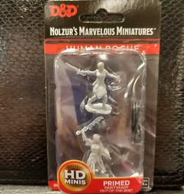 Wizkids Dungeons & Dragons Nolzur's Marvelous Unpainted Miniatures: W10 Female Human Rogue