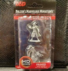 Wizkids Dungeons & Dragons Nolzur's Marvelous Unpainted Miniatures: W10 Female Human Sorcerer
