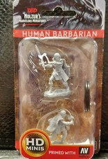 Dungeons & Dragons Nolzur's Marvelous Unpainted Miniatures: W1 Human Female Barbarian