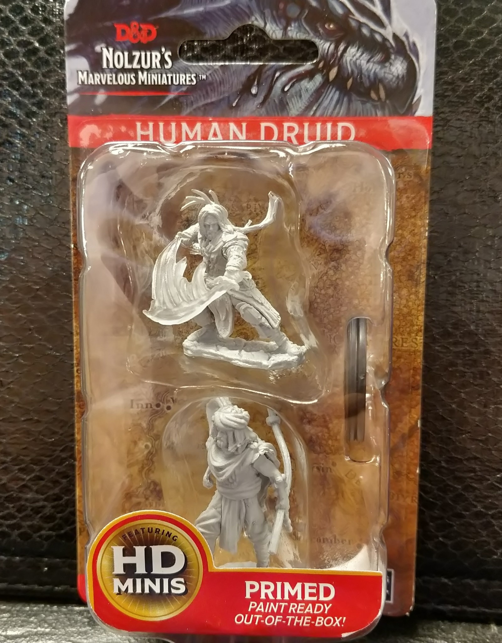 Dungeons & Dragons Nolzur's Marvelous Unpainted Miniatures: W6 Male Human Druid