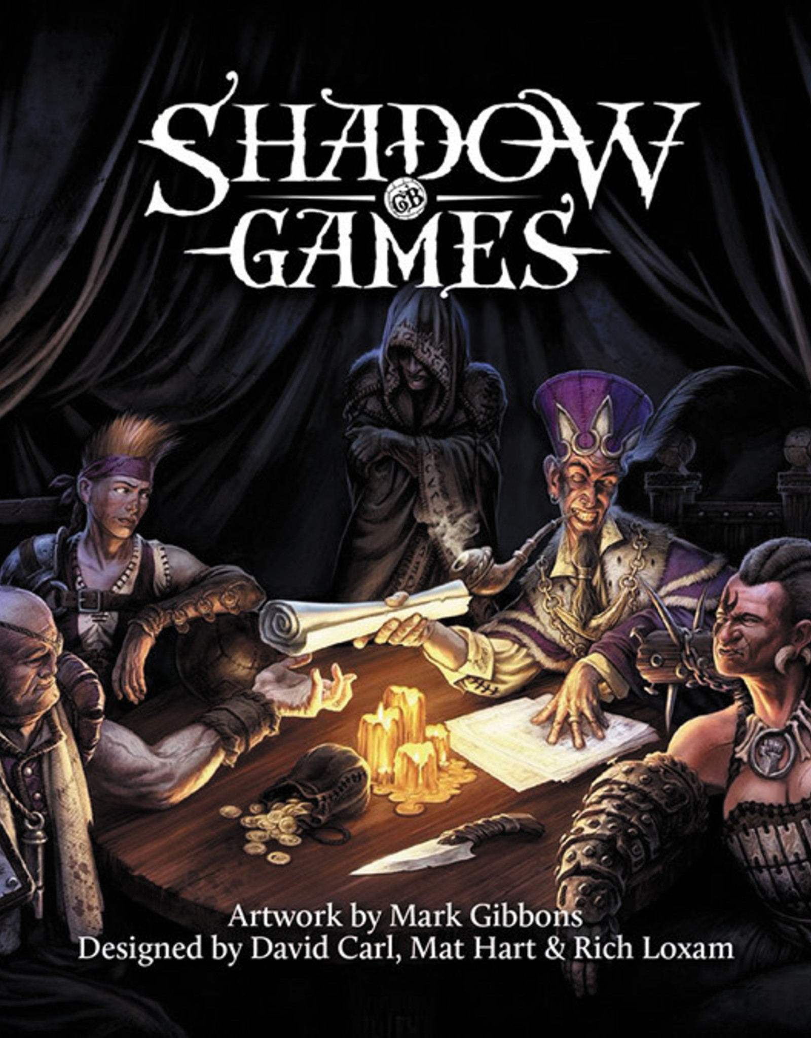 SHADOW GAMES CARD GAME