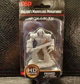 Wizkids Dungeons & Dragons Nolzur's Marvelous Unpainted Miniatures: W10 Iron Golem