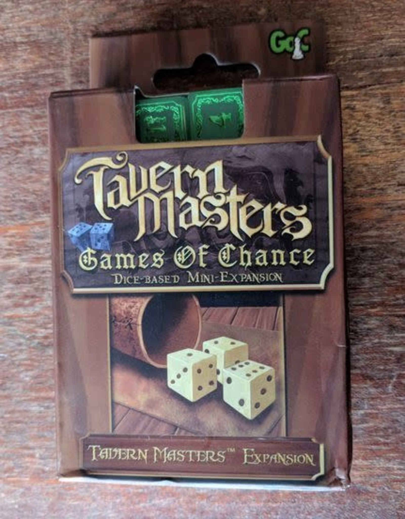 Tavern Masters: Games of Chance Expansion