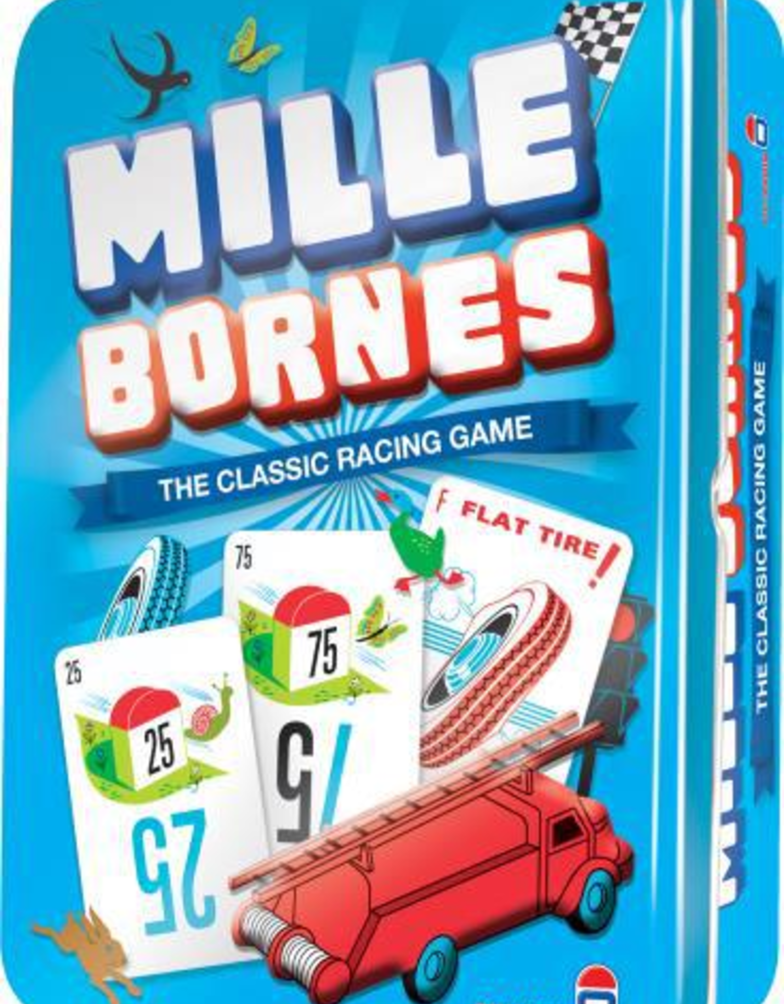 Asmodee: Top 40 Mille Bornes - The Classic Racing Game